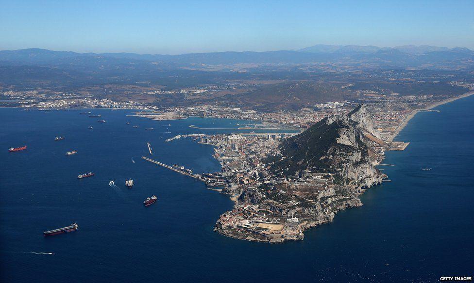 Gibraltar peninsula