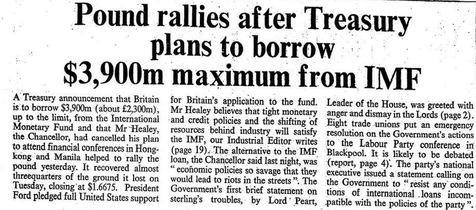 Times article on IMF loan