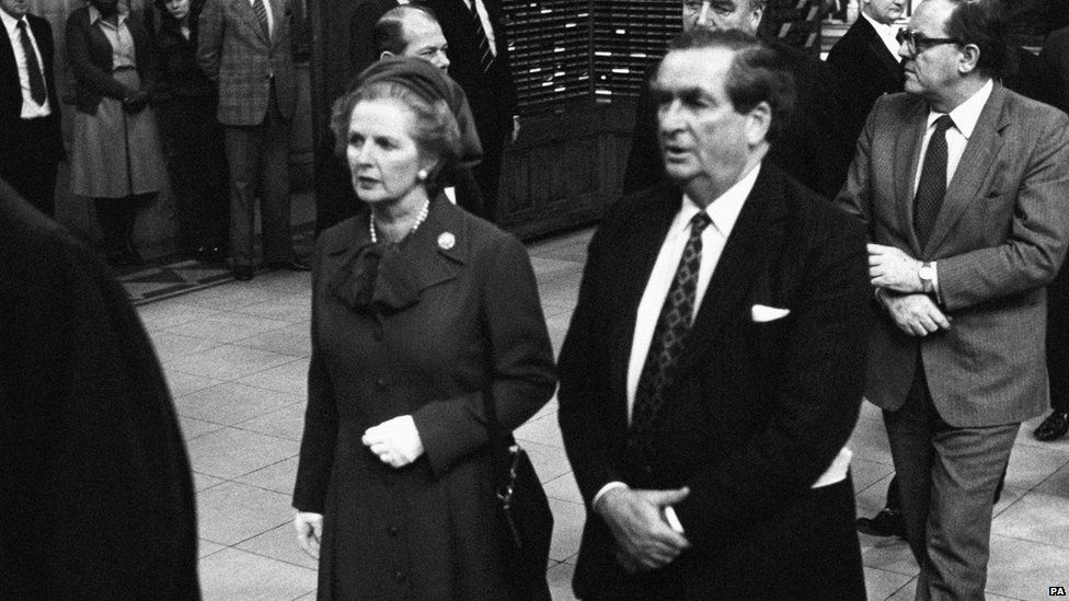 Healey and Thatcher