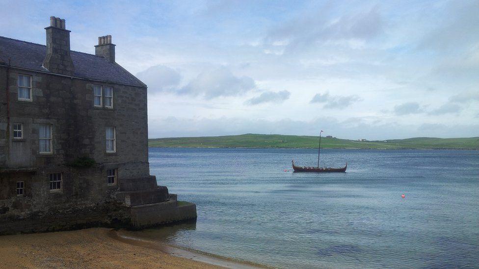 House in the Shetland Isles