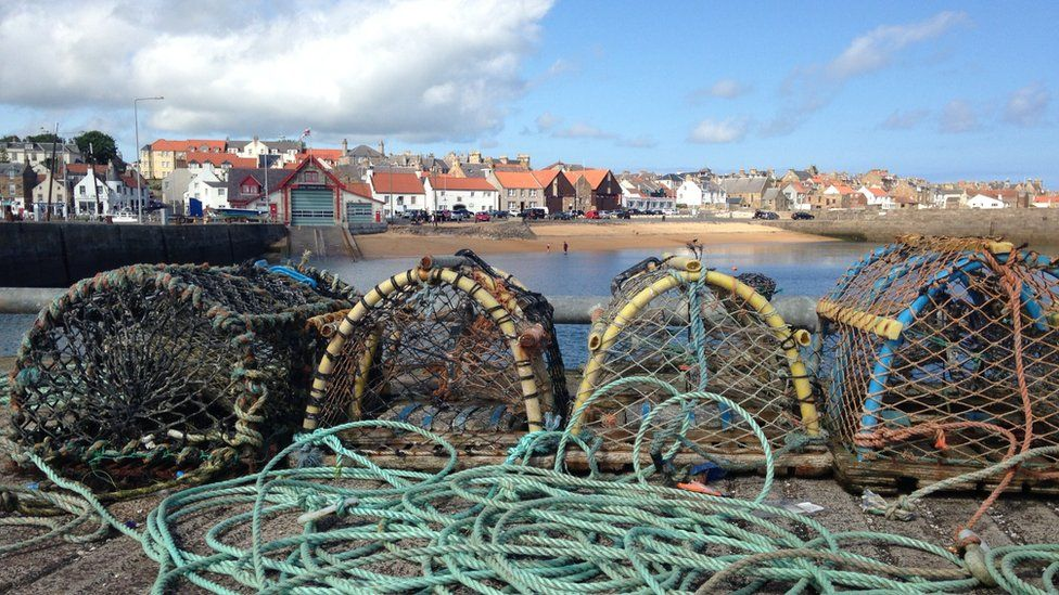 Creels in Anstruther