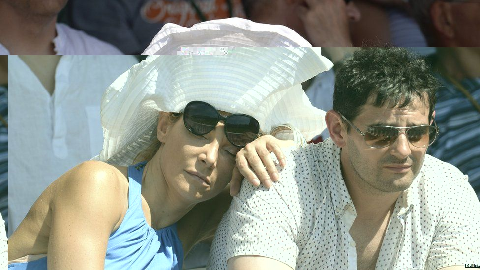 A woman sleeping in the sun at Lord's