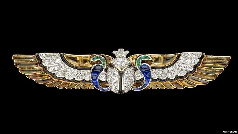 Cartier diamond brooch, about 1923