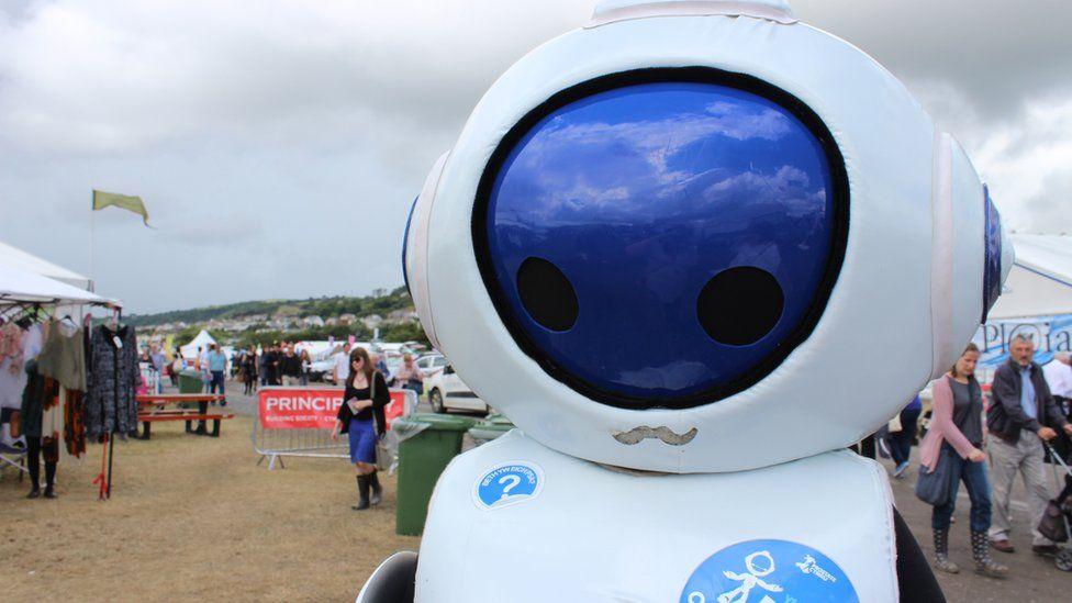 Rhodri'r robot