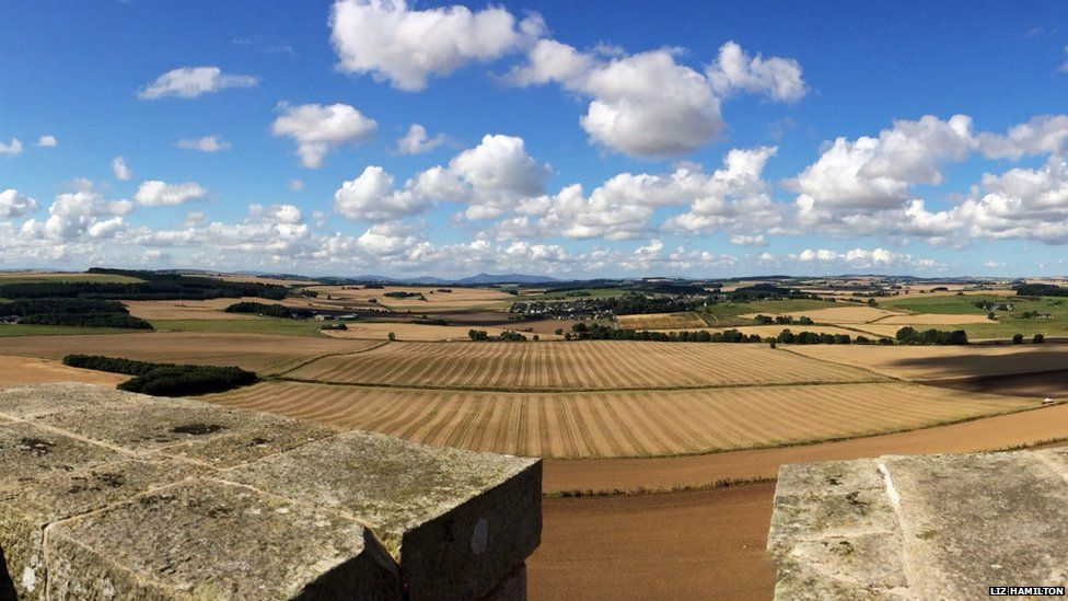 View over Tarves