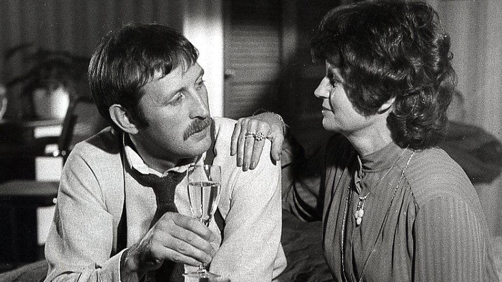 Jack Daniels a Glenda Williams