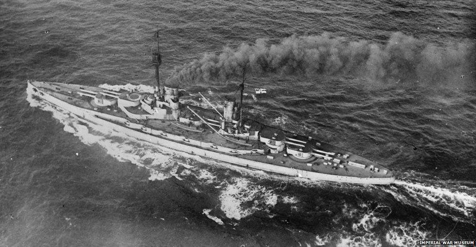 German Battleship Grosser Kurfuerst