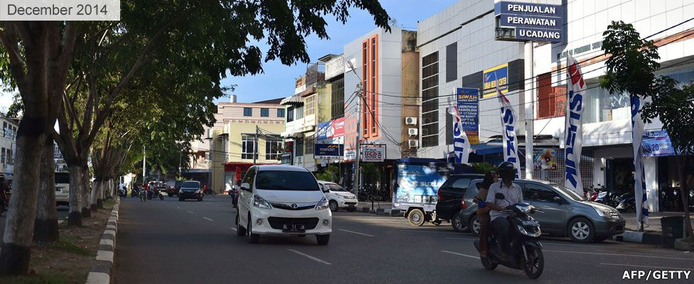 Banda Aceh in 2014