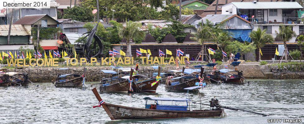 Ko Phi Phi Island in Thailand in 2014