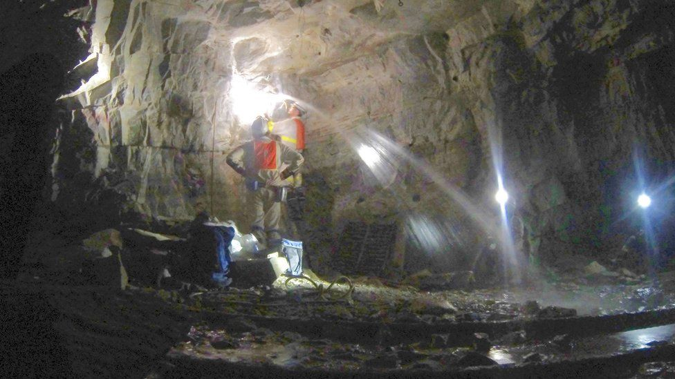 The ancient water is found several kilometres down in the Earth's continental crust