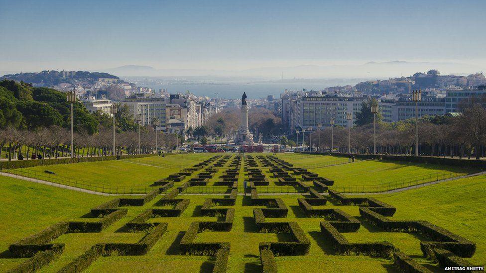 Marques do Pombal Garden in Lisbon