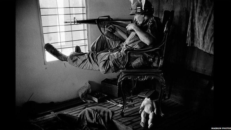 Brwydr Saigon // The Battle for Saigon. 1968