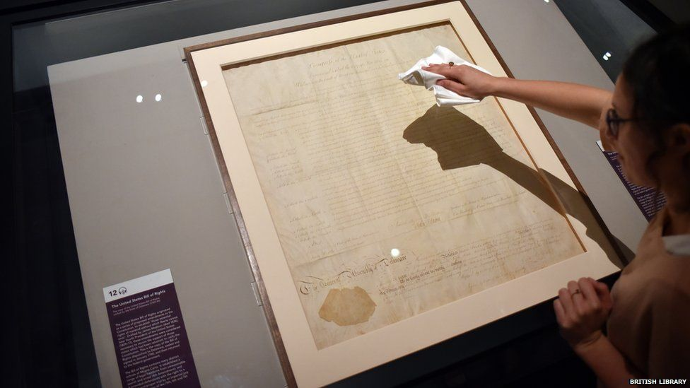 The Delaware copy of the US Bill of Rights