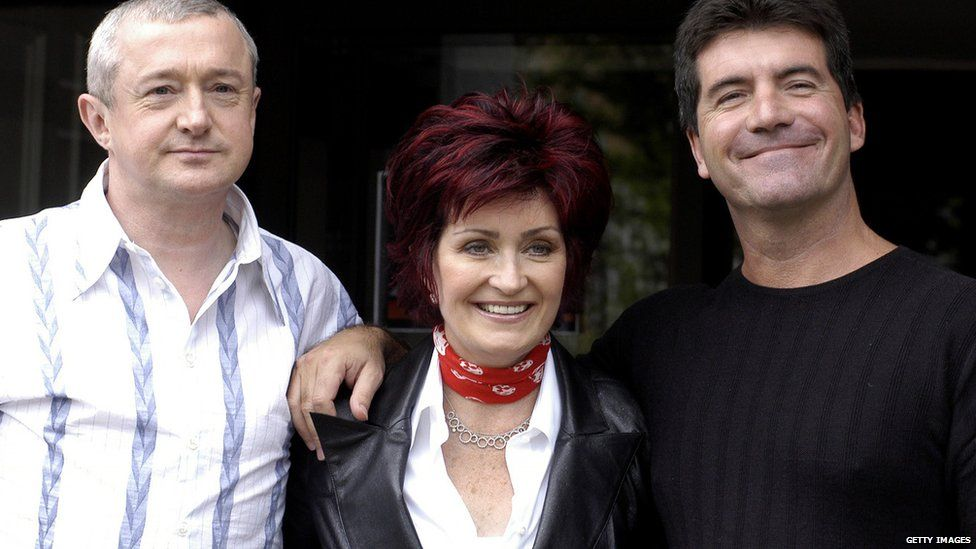 Louis Walsh, Sharon Osbourne and Simon Cowell were the original judging panel in 2004
