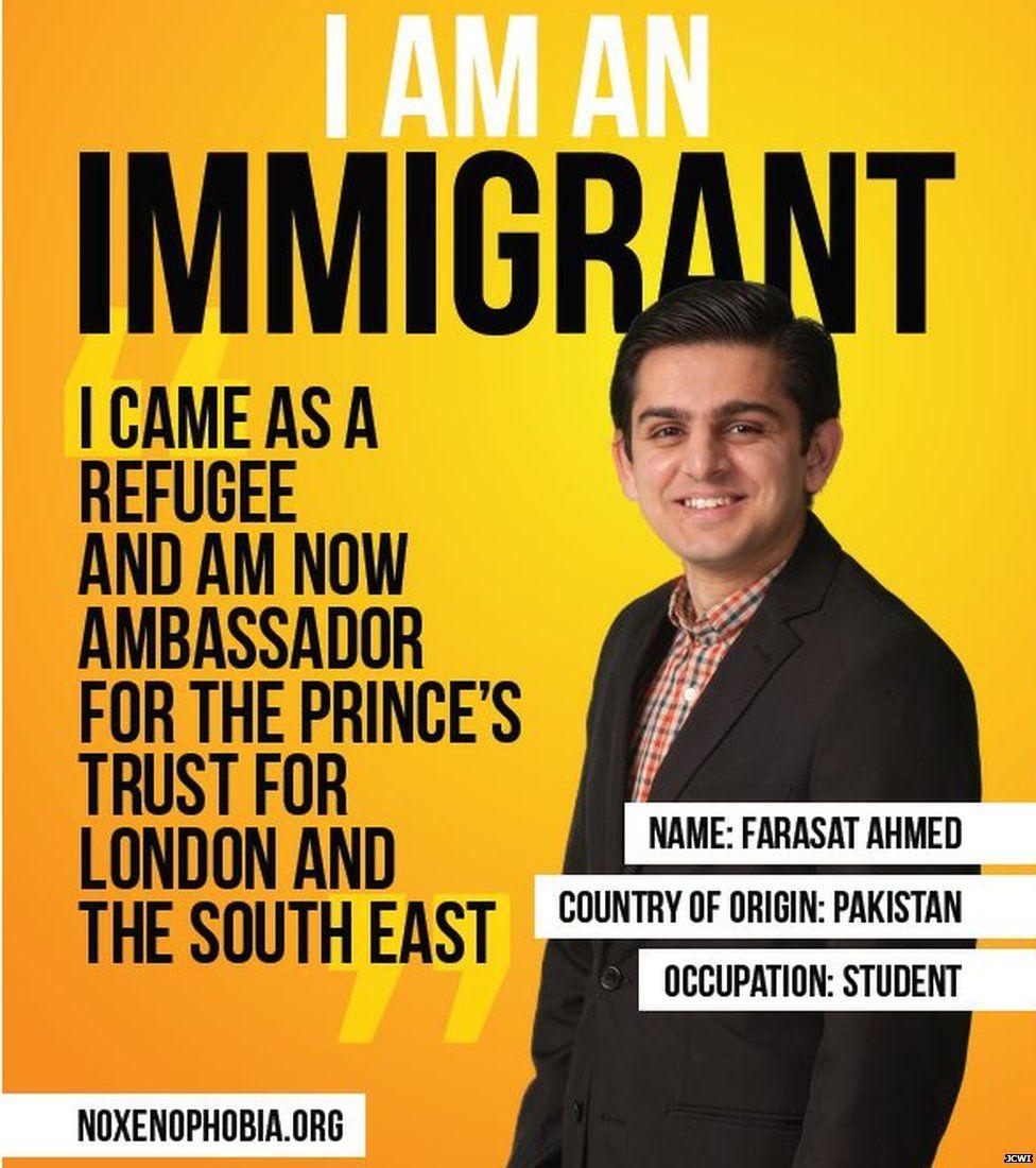 I am Immigration poster