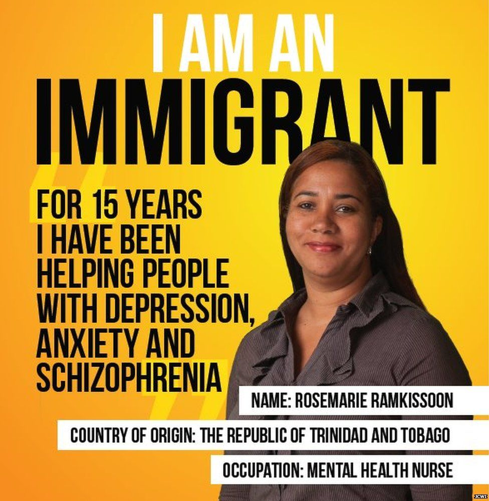 Iam an Immigrant poster