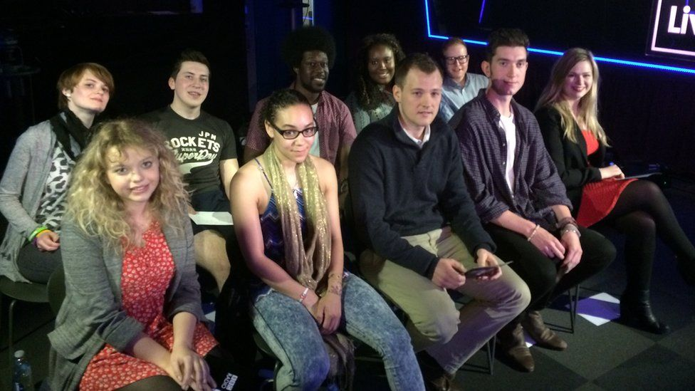 The Live Lounge audience