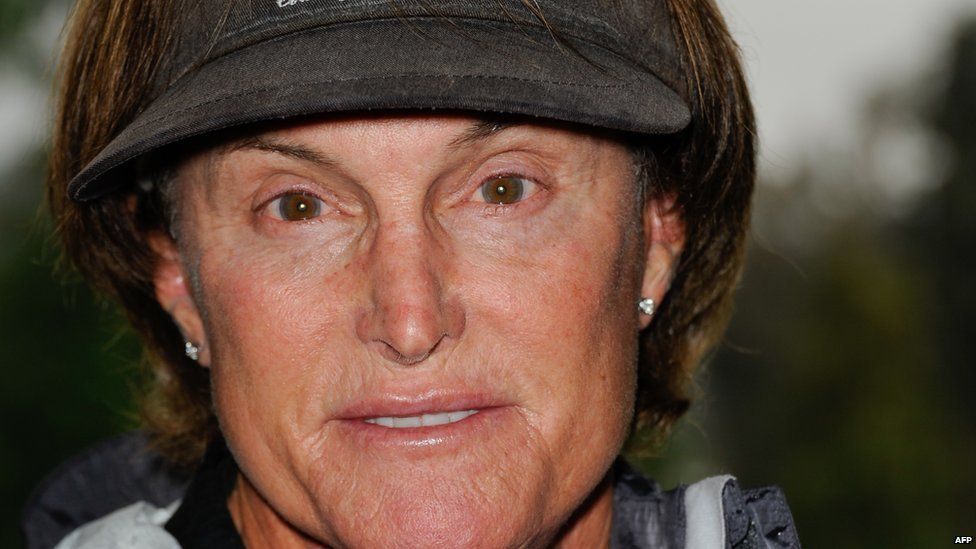 Bruce Jenner in a hat