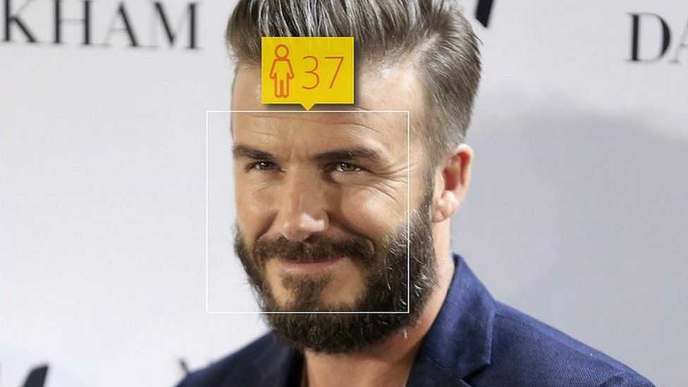 David Beckham Turns 40 We Ask Howoldrobot How Old He Looks Bbc Newsbeat