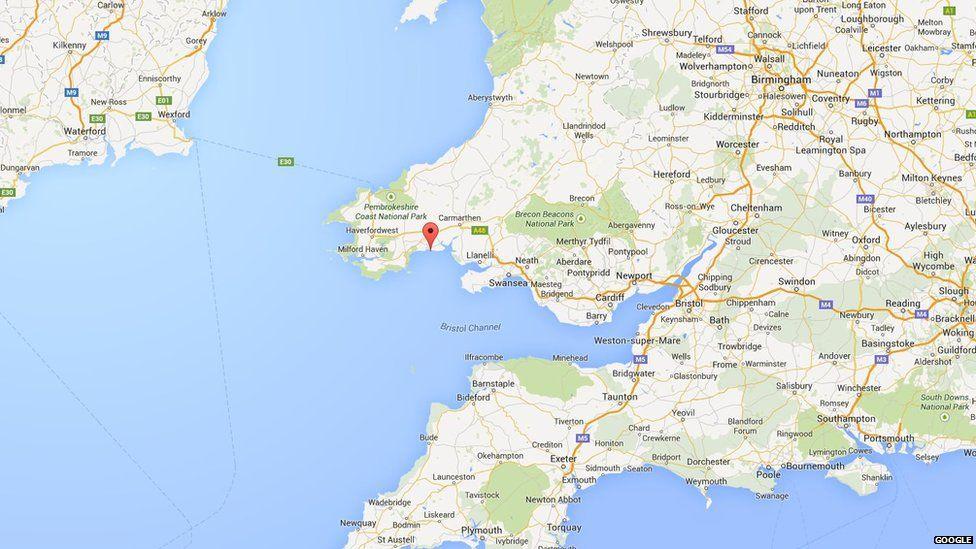Pendine Sands Map Idris Elba breaks 'flying mile' record held by Sir Malcolm  Pendine Sands Map