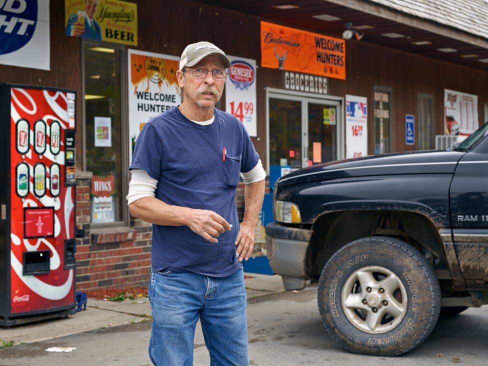 Bobby Irvine, owns three convenience stores called Trent's