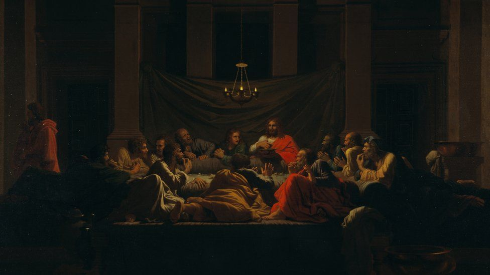 The Sacrament of the Holy Eucharist (1647), by Nicolas Poussin