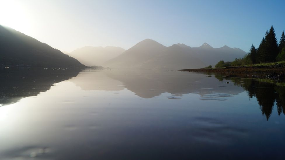 Five Sisters of Kintail and Loch Duich