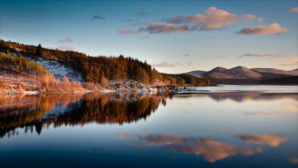 Loch Doon, near Dalmellington, South Ayrshire