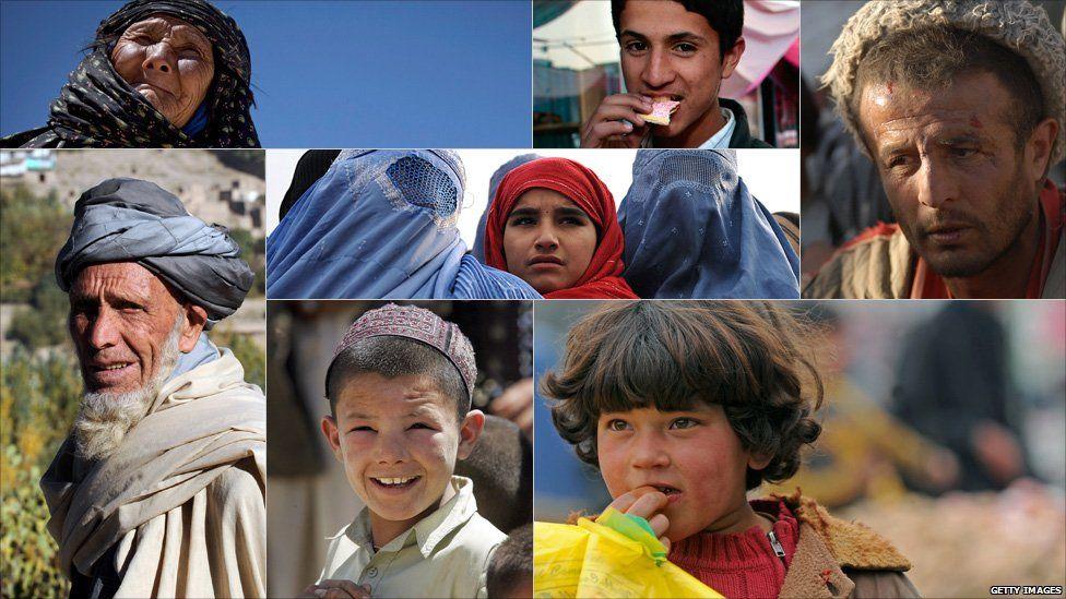 Portraits of Afghans