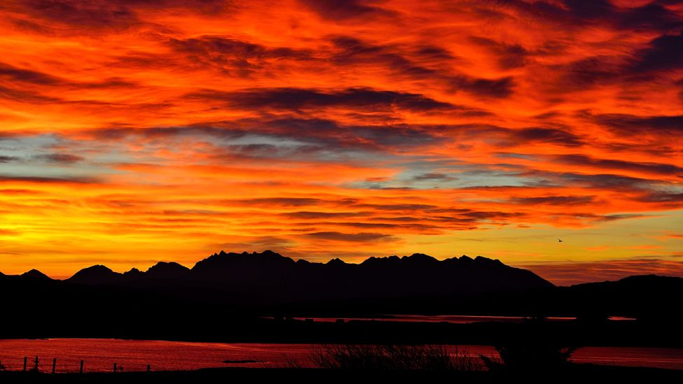 Sunrise over the Cuillins on the Isle of Skye