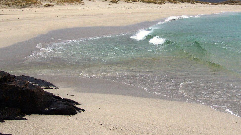 Beach on Barra