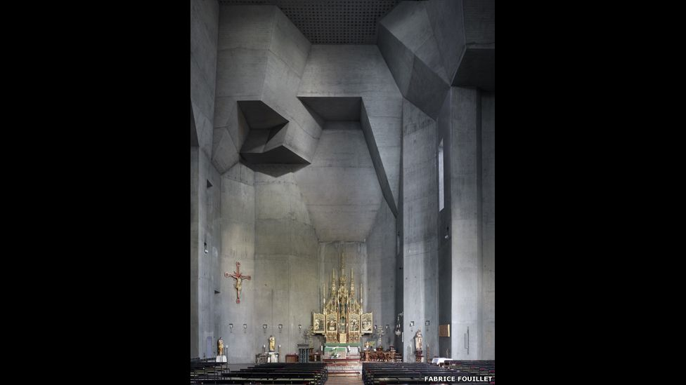 Interior of a place of worship
