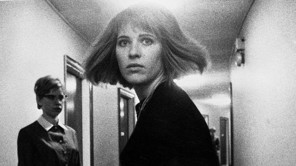 Pauline Boty in Ken Russell's film Pop Goes the Easel