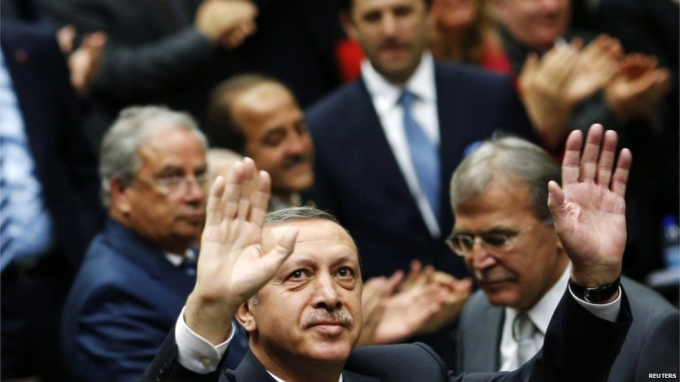 Turkish Prime Minister Recep Tayyip Erdogan in Ankara, 11 June 2013