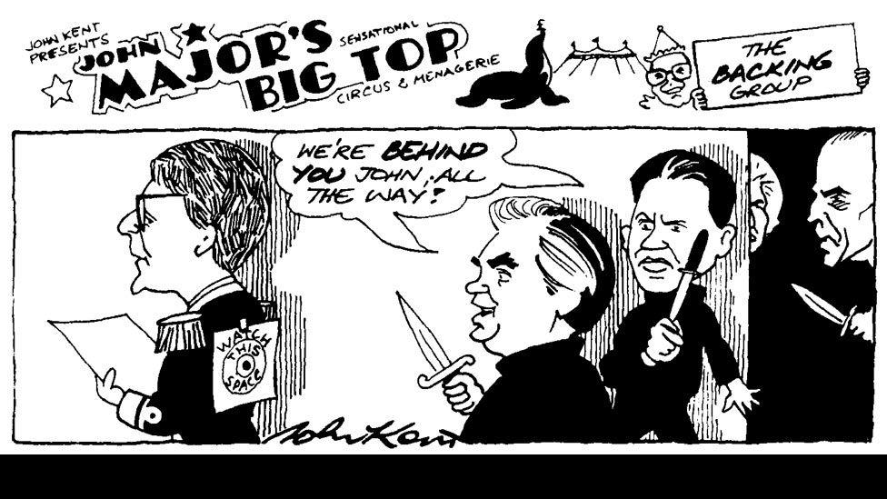 John Major's Big Top by John Kent