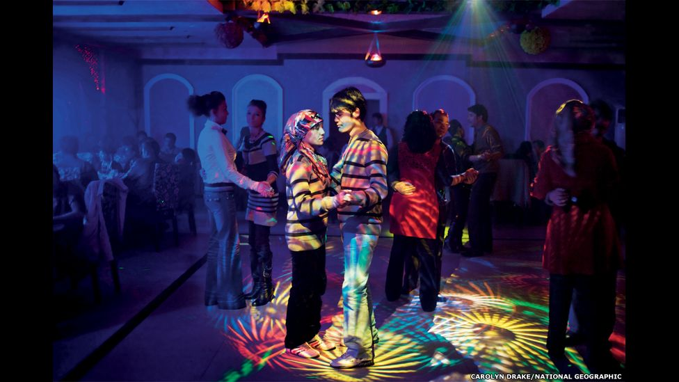 In Hotan, a Uygur town with a rising Han Chinese population, Uygurs socialize at their own nightclubs.