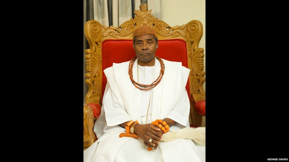 Ogiame Atuwatse II, the Olu of Warri