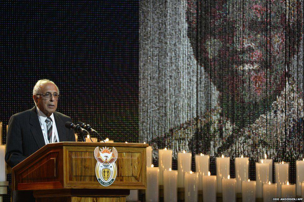 Anti-apartheid activist and close friend of Nelson Mandela Ahmed Kathrada