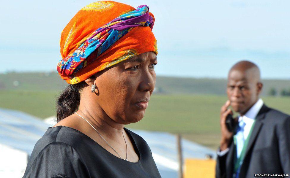 Nelson Mandela's eldest daughter Makaziwe Mandela