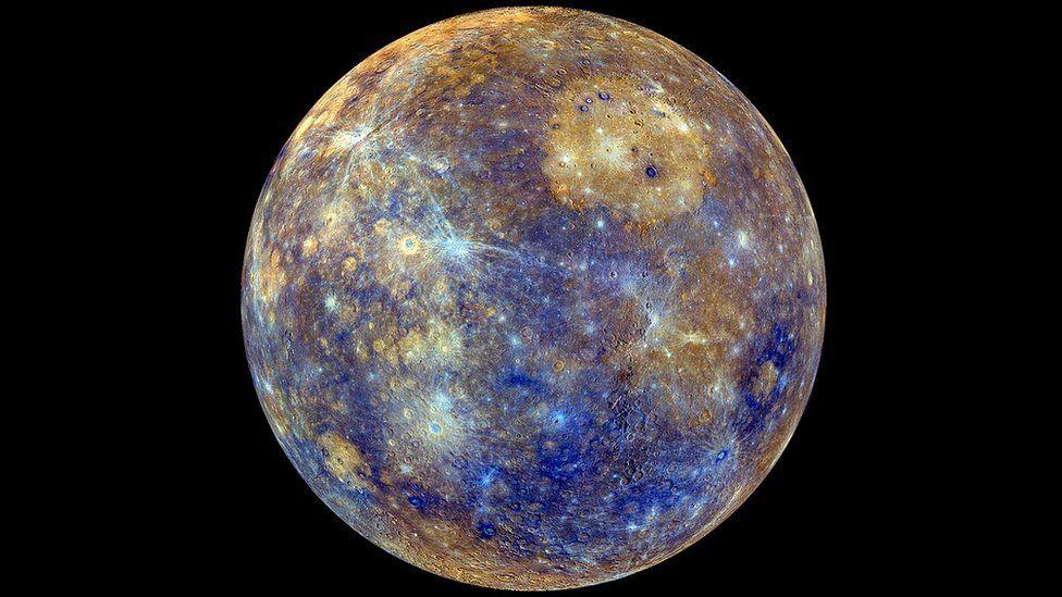Mercury map