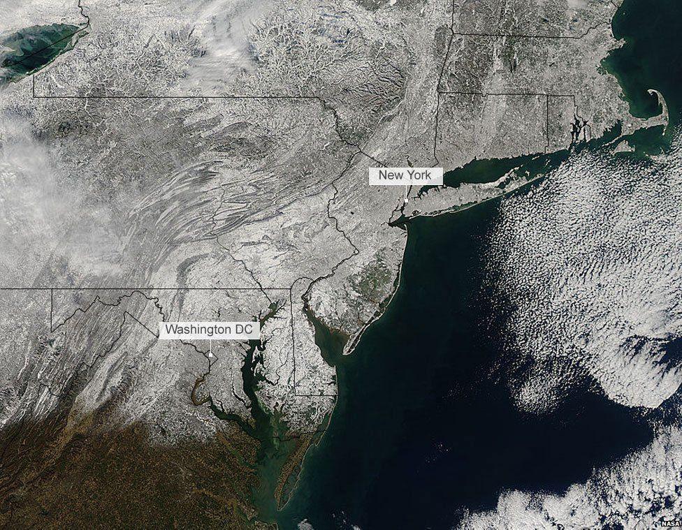 4 January satellite image