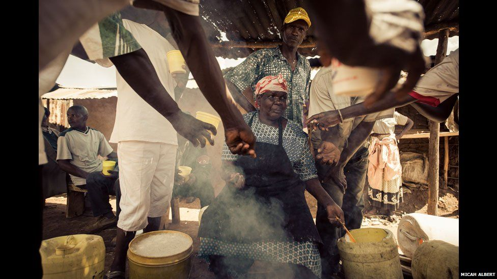 Nyaleko, a busaa brewer in western Kenya