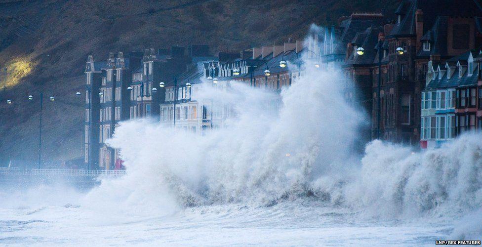 Storms in Aberystwyth