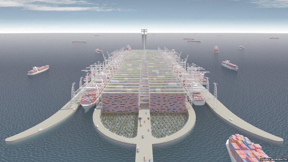Next Generation Container Port concept design