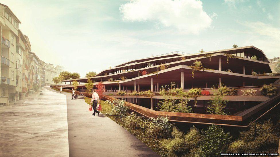 Sultangazi market hall concept design