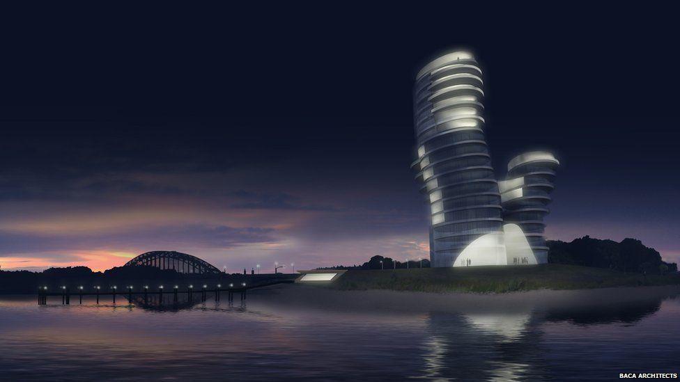 Eiland Veur Lent concept design