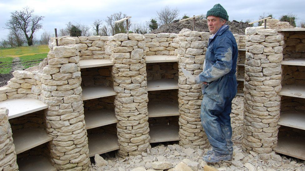 Geraint Davies working on All Cannings long barrow