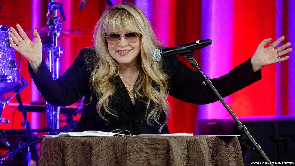 Songwriter and musician Stevie Nicks