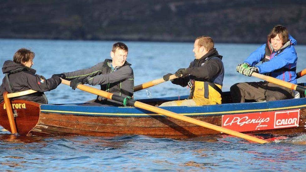 Rowing boat Aurora