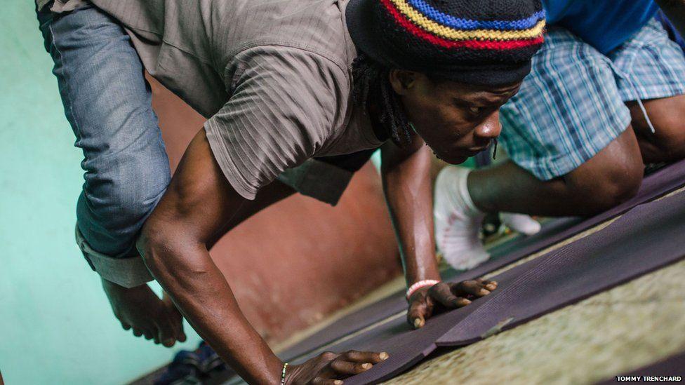 David Cole, Sierra Leone's second yoga instructor